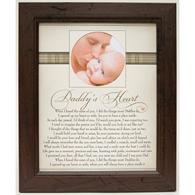 The Grandparent Gift Co. Heart Collection 8x10 Frame, Daddy's Heart by The Grandparent Gift Co.