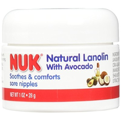 NUK Care Soothing Lanolin Cream with avocado by NUK