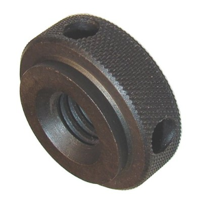 Morton Brass Knurled Nuts with Torque Holes, Inch Size, 3/8-16 Thread Size by Morton