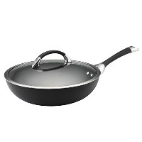 Circulon Symmetry Hard Anodized Nonstick 12-Inch Covered Essentials Pan by Circulon