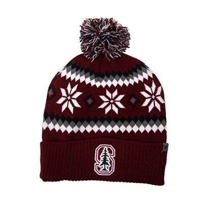 Stanford Cardinal公式NCAA 1つサイズFogbow Cuffed Knit Beanie Hat by Top of the World 253187