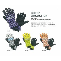 FLUX GLOVES [ CHECK GRADATION ] フラックス グローブ