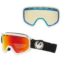 (取寄)ドラゴン D1 OTG スキー ゴーグル Dragon Alliance Men's D1 OTG Ski Goggles Inverse/Red Ion/Yellow Blue