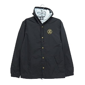 LOWCARD JACKET(ローカード)ジャケット STORM CHEATER HOODED COACH 黒,M
