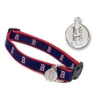 Sporty K9 MLB Boston Red Sox Dog Collar, Small by Sporty K9