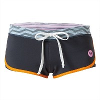 【ROXY ロキシー】 ウェットスーツ 1MM XY NEO SHORT 【RWT161907 XPBN L W】