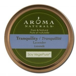 Allergy Friendly Tin Soy Candle - Tranquility (Lavender)[並行輸入品]