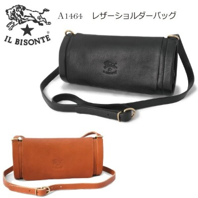 IL BISONTE イルビゾンテ レザーショルダーバッグ ポシェット A1464