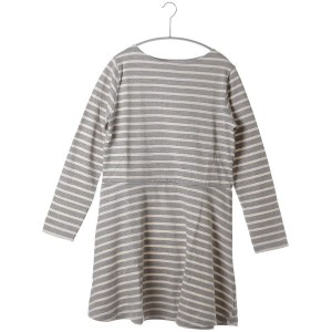 【SALE 70%OFF】アトモス ガール atmos girls atmos STRIPE PEPLUM ONE PIECE(T.GRY×NAT)