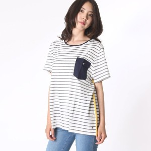 【SALE 50%OFF】トミーヒルフィガー TOMMY HILFIGER FLORENCE C-NK TOP SS (ホワイト)