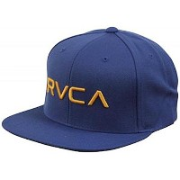 RVCA Twill Snapback Hat Cap Royal キャップ 並行輸入品