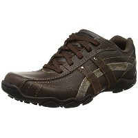 [スケッチャーズ] SKECHERS Diameter-Blake 63385 BRN(Brown Leather/26.5)