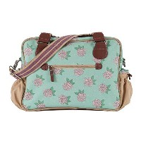 Pink Lining Not So Plain Jane Napy Bag, Hydrangea by Pink Lining