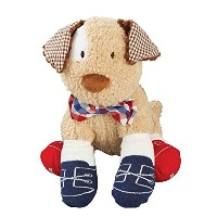Mud Pie Puppy Bowtie Sock Buddy by Mud Pie