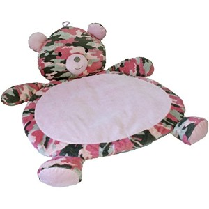 Mary Meyer Bear Baby Mat, Camo/Pink by Mary Meyer