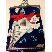 Baby Blanket Sailing Reversable by Sweet Lullaby [並行輸入品]