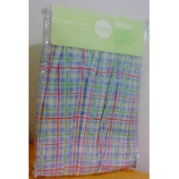 Circo Crib Dust Ruffle (Bed Skirt) Plaid by Circo [並行輸入品]