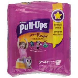 Pull-Ups Girls Training Pants 3T/4T by Kimberly-Clark