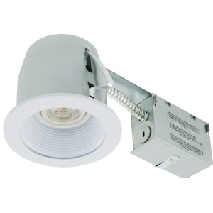 Liteline rc402C01-led-pc-wh All - in - One 4インチLED Recessedコンボwith Remodelハウジング、8W LED par20ランプ...
