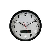 Kincaid 12' Analog Clock with Day/date LDC Display [並行輸入品]
