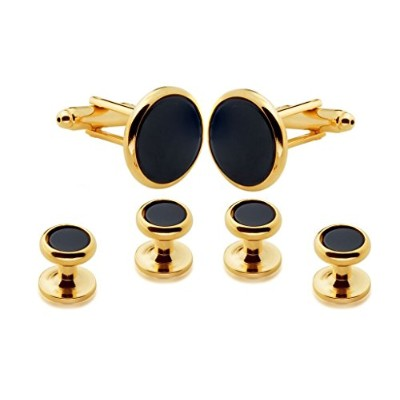Genuine Onyx Cufflinks and Studsメーカー直接価格