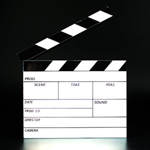 Light Up Film Clapperboard