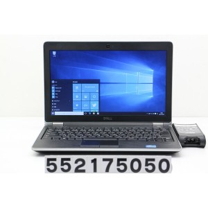 DELL Latitude E6220 Core i7 2640M 2.8GHz/4GB/128GB(SSD)/12.5W/FWXGA(1366x768)/Win10【中古】【20171206】