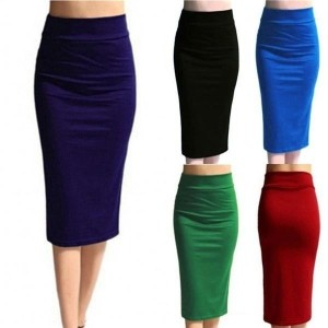 5 Colors Women Fashion  Skirt High Waist Slim Hip Pencil Skirts Sexy Hot
