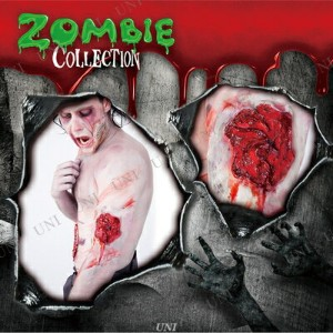 ZOMBIE COLLECTION FXSCAR Wound(傷) ホラーメイク プチ仮装 変装グッズ 化粧 コスプレ パーティーグッズ ハロウィン 衣装 メイクアップ 特殊メイク