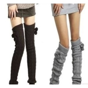 Long Knit Legging Leg Warmer