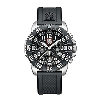 ルミノックス LUMINOX 腕時計 NAVY SEALs STEEL COLORMARK CHRONOGRAPH 3180 SERIES 3181 [並行輸入品]