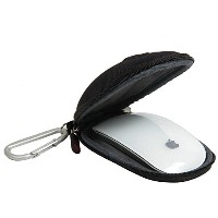 for Apple Magic Mouse (I and II 2nd Gen) Hard Nylon EVA Storage Carrying Case Bag with carabiner by...