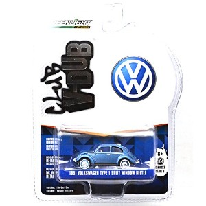 "GREENLIGHT 1:64SCALE ""V-DUB"" ""1951 VOLKSWAGEN TYPE1 SPLIT WINDOW BEETLE""(BLUE) グリーンライト 1:64スケール 「V..."