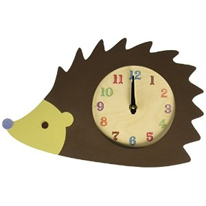 Tree by Kerri Lee Clock, Hedgehog by Tree by Kerri Lee