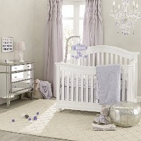 Lambs & Ivy Signature French Lavender 4 Piece Crib Bedding Set by Lambs & Ivy