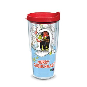 Tervis Merry Grinchmas Wrap with Lid 24ozタンブラー1274552