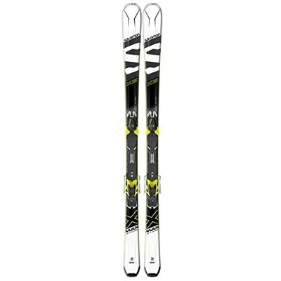 17-18 SALOMON X-MAX X8 + XT10 162cm WHITE/BLACK/YELLOW