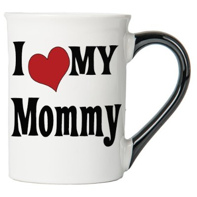 I Love My Mommy 200z。コーヒーマグ;セラミックMommy Cup byエルトン・ジョン