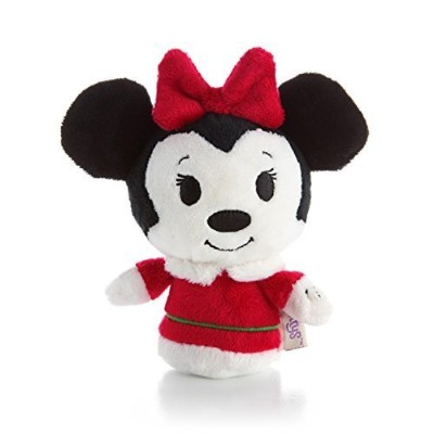 Hallmark Itty Bittys Christmas Minnie Mouse Plush by Hallmark