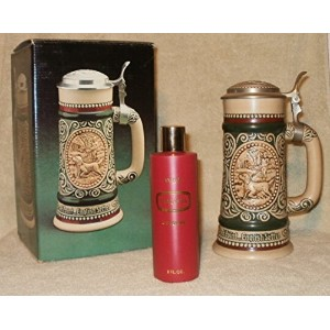 Avon Sporting Stein Decanter with (空) Trazarra Cologneボトル