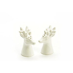 鹿Heads Salt and Pepper Shaker Set