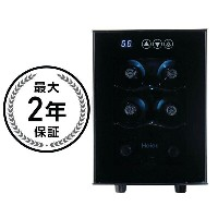 ハイアール ワインセラー 6ボトルHaier 6-Bottle Wine Cellar with Electronic Controls
