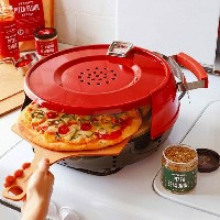 ピザオーブン ガスコンロ用Pizzacraft Pizzeria Pronto Stovetop Pizza Oven