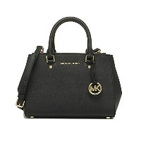 [マイケルマイケルコース] MICHAEL MICHAEL KORS sutton small saffiano leather satchel 30F4GSUS5L 4color (BLACK) ...