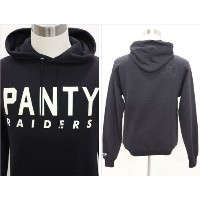 PANTY RAIDERS パンティレイダース PANTY WITH GLOW IN THE DARK HOODIE フーディー S BLACK