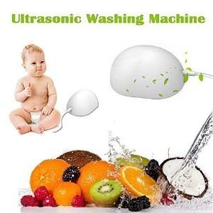 【日本の出荷は1日-3日配達する】Ultrasonic Automatic Laundry Cleaning Egg Mini Portable Sterilization Washing...