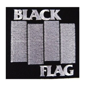 Black Flag Patch Rock Heavy Metal Embroidered Iron On Patches by Music Patch [並行輸入品]