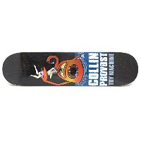 TOY MACHINE DECK トイマシーン デッキ COLLIN PROVOST SECT ATTACK BLACK STAIN 7.75