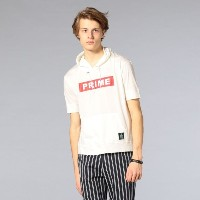 SALE【GUILD PRIME ギルドプライム】 ◇◇【GUILD PRIME】MENS Tシャツパーカー ホワイト メンズ