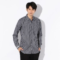 SALE【GUILD PRIME ギルドプライム】 ◇◇【Education from Youngmachines】MENS フィルモアストライプシャツ ブルー メンズ